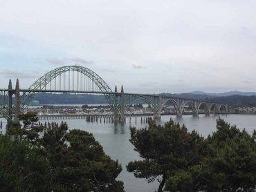Newport Bridge, Newport, Oregon