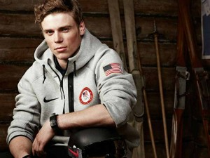 A photo of Olympic medalist Gus Kenworthy.