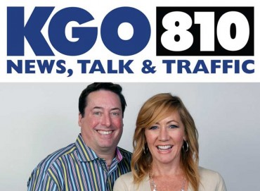 Drex and Heather Hamann from KGO 810 News, Talk and Traffic radio