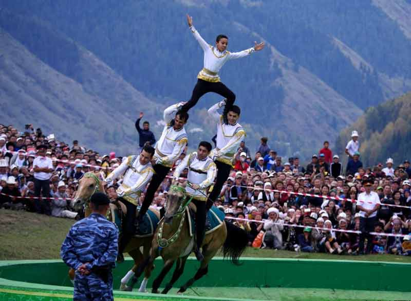 Turkmen Horse Riders at the World Nomad Games